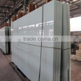 Low price/good quality milk white laminated glass/opal laminated glass/Opaque laminated glass