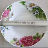 cheap white porcelain soup plate Linyi Factory