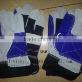 Labor protection gloves with reinforce palm