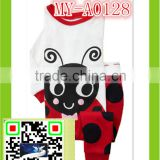 2015 fashion animal pajamas with bee print 2-7 year MY-A0128