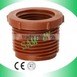 PP THREADED REDUCING BUSHING,BROWN