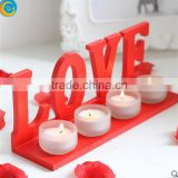 mini glass candle holder for birthday decors wedding decoration