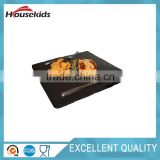 Hot sell Natural Black slate cheese board wholesale