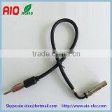 Vehicle Car Stereo ISO plug Aerial Adaptor Antenna Cable Connector Black for ford