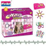 2016 new toys crystal tattoos and jewellery set diy toys creative toys