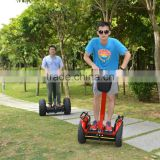 Hot sales 2 wheel electric scooter self balancing with LED light and Max Speed 18km/h scooter electric hands free scooter