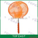 Hot selling kis Toy Portable Telescopic Stainless steel handle butterfly net fishing mesh net