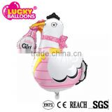 Helium foil balloons factory EN71approved baby duck shape helium balloons                                                                         Quality Choice