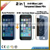 Factory wholesale hot selling 9H anti blue light tempered glass screen protector for iphone 5/5s SE