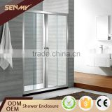 China Factory Aluminium Frame Tempered Glass 3 Doors Sliding Shower Door                                                                         Quality Choice