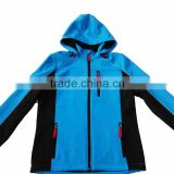 Ladies' high quality Soft-shell Winter Jacket-reflective piping and waterproof windproof breathable