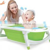 PM3308 Karibu 2015 hanging design safty multifunctional baby folding bath tub with heat sensitive