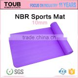 Manufacturer OEM Mats For Sports Natural NBR Yoga Mat                                                                         Quality Choice