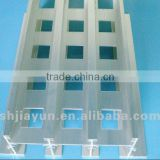 ISO & ROHS certificate aluminium profile for partition with excellent quality and competitive price