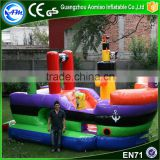 Cheap inflatable castle commercial large bounce house inflatable pirate ship bouncer for kids                                                                                                         Supplier's Choice