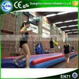 2016 inflatable air tumble track factory,inflatable air track for sale