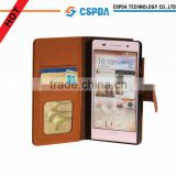 For Huawei Acsend P6 fashion stand wallet leather cover