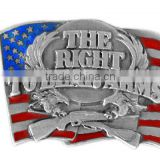 """The RIGHT TO BEAR ARMS""American Flag Enamel Metal Fridge Magnet"