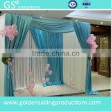 Aluminum adjustable pipe and drape stands backdrop