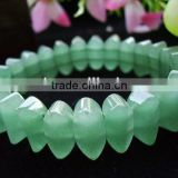 Hot seller gemstone green aventurine special rectangle bracelet jewelry