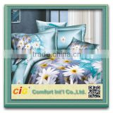 bed linen 3d/chenille fabric bedding/3d bed sheet set