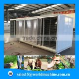hydroponic cattle green fodder growing machine /live stock feed plant machine for sale
