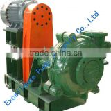 Rubber lined slurry pump agitator