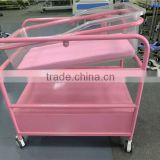 Hospital Furniture Economic baby bed crib infant hospital bed acrylic cot bed