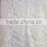 Chinese 2016 New Arrival Fancy Design Lace Fabric/Apparel/Wedding Dress Lace