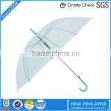 Wholesale one dollar promotion windproof poe umbrella