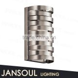 modern cheap classic chinese retro metal material and chrome wall lamp cord cover for bathroom