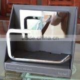large rectangle back base plate Hotel Toilet Paper Holder, toilet Roll Holder,Tissue Holder