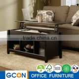 Smart Home Furniture modern wooden Lift Top Coffee Table                                                                         Quality Choice