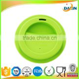 Hot selling cheap new silicone coffee cup cover eco-friendly Silicone Cup Lid or Silicone Cup Cover