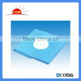 Disposable medical blue drape for surgical supply