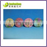 Resin round shape animal and floweer with glister stepping stone