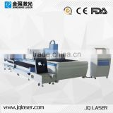 JQ hot sale stainless steel and tube metal fiber laser cutting machine                                                                         Quality Choice