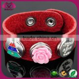 hot sell metal fashion rhinestone round buttons, snap button jewelry, interchangeable snap button