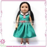 Factory offer plastic baby girl doll, plastic baby girl doll play doll