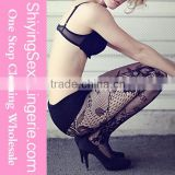 sexy Women wholesale Black Panty Lace Leg sex tube pantyhose