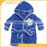 kids disposable robes baby robe baby animal bathrobe colar fleece bath towel