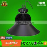 IP65 IP Rating and Energy Star,CE,RoHS,LVD,EMC,UL,FCC Certification led high bay light