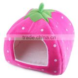 Wholesale Colorful Strawberry Warm Pet Dog Cat Bed