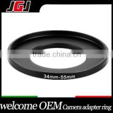 Camera Lens Filter Step-up Ring Adapter Ring 34-55mm Ring For Canon 5D For Nikon D5200 D7200