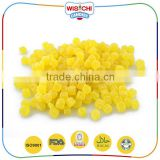 High quality sugar coated sour gummy candy bulk for gift