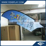 Plastic Flagpole Material and Polyester Flags & Banners Material outdoor advertising banners