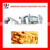 high quality semi-automatic batch Frying production line for peanut/broad bean/ cashew nut