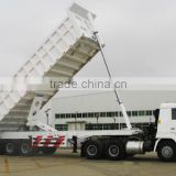 CITC Top Ranking 13M Long 2 Axles Tipping tractor Trailer with loading capacity 30-50Tons