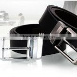 New Arrival 2015 fashion italian style oem leather belt business men genuine leather belt buckle wholesale