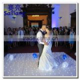 design led lighting single color star wedding led dance floor